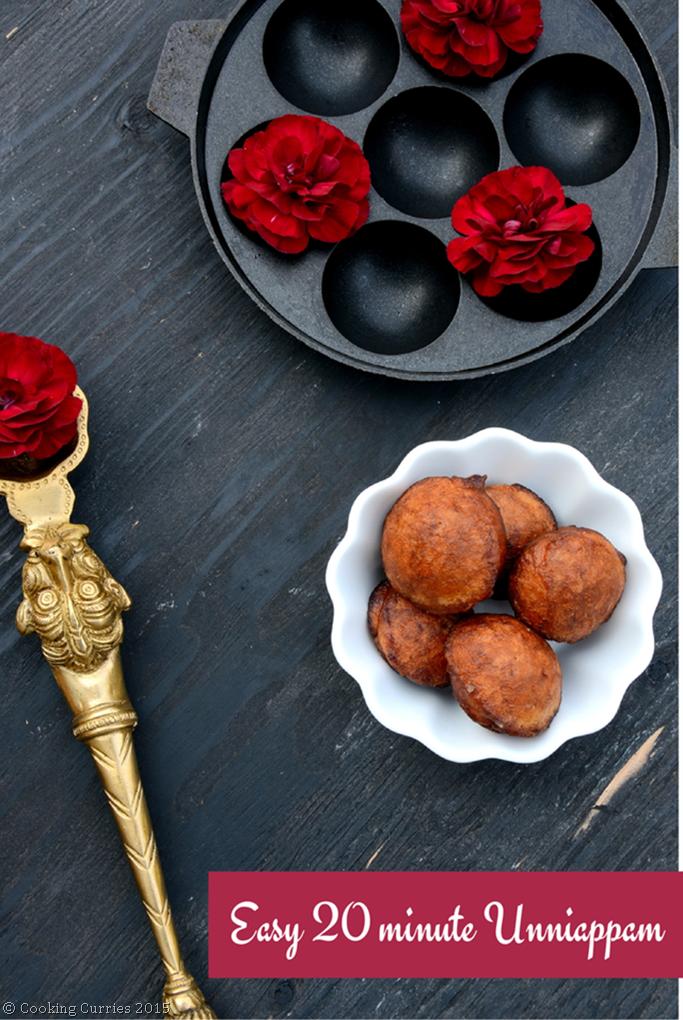 Easy 20 minute Unniappam - Mirch Masala - Vishu Onam Sadya Kerala Sadya Recipe