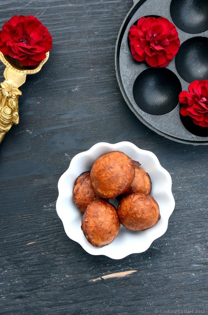 Easy 20 minute Unniappam - Mirch Masala - Vishu Onam Sadya Kerala Sadya Recipe (2)