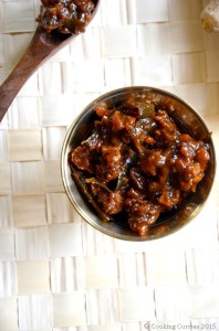 Puli Inji - Inji Puli - Inji Curry Recipe for Kerala Sadya