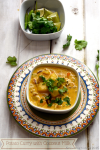 Potato Curry with Coconut Milk - Vegan | Gluten Free