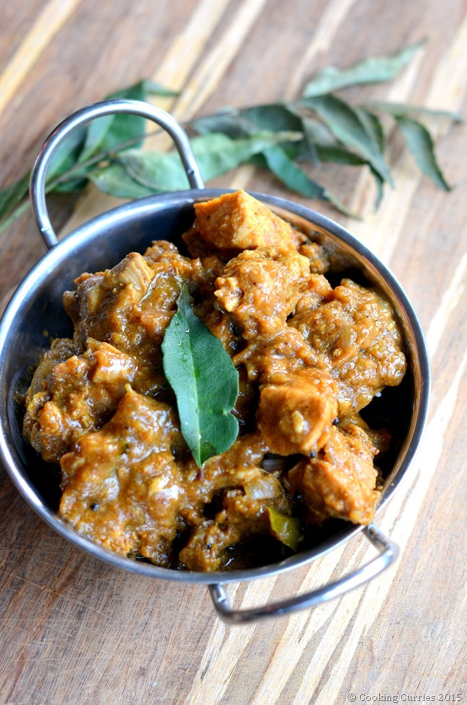 Varutharacha Chicken Curry ~ Kerala Style ~ Chicken Curry with a Roasted Coconut and Spices Sauce - Cooking Curries (2)
