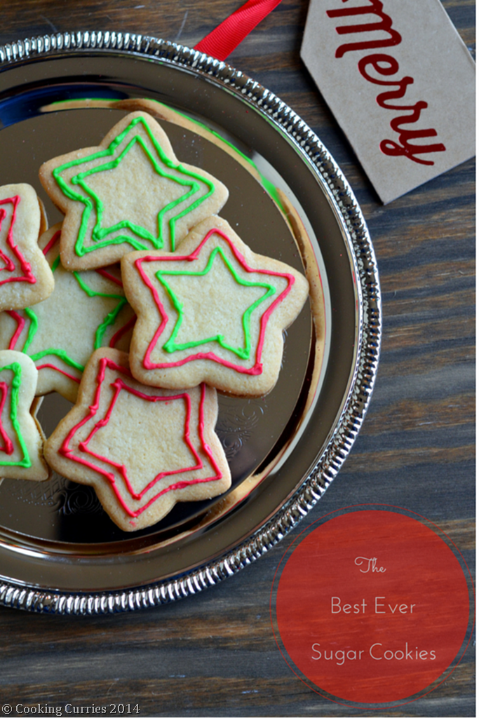 The Best Ever Sugar COokies - Mirch Masala