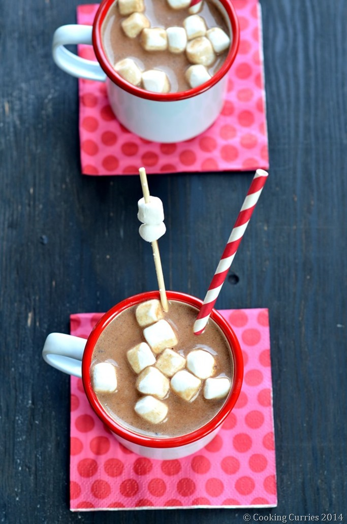 Triple Chocolate Hot Chocolate - Mirch Masala