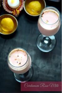 Cardamom Rose Milk
