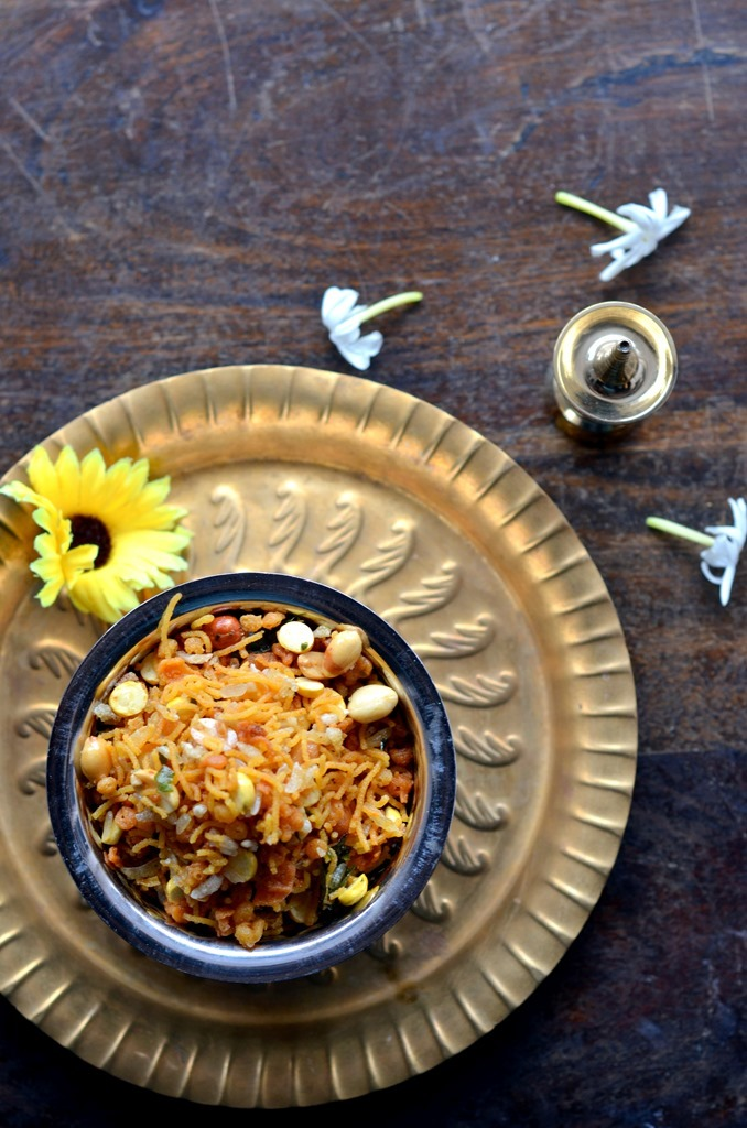 Spicy Mixture - Indian Trail Mix - Diwali Recipe - COoking Curries