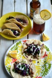 Green Lentils and Maitake Mushroom Tacos | Gluten Free, Vegetarian