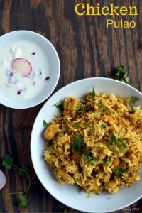 Chicken Pulao / Chicken Pulav | Gluten Free Indian