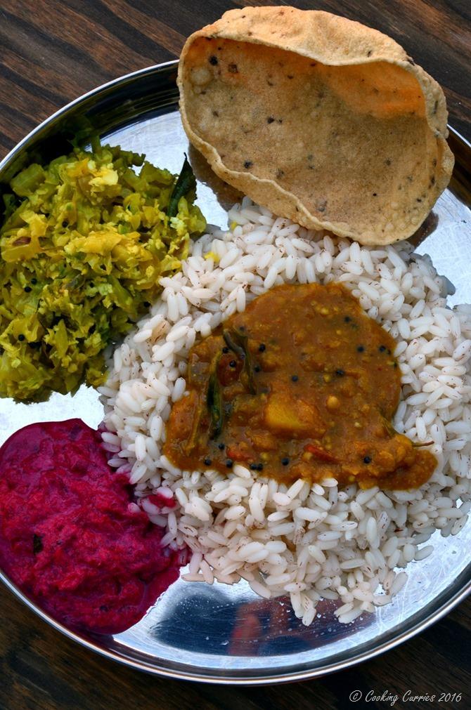 Varuthu Aracha Sambar - Kerala Sadya Recipes Onam Vishu (3)