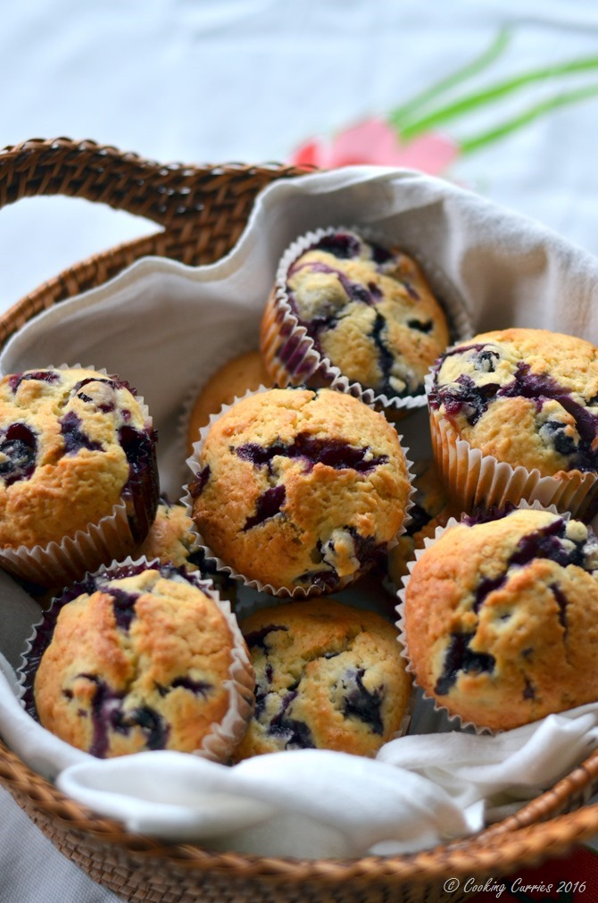 Meyer Lemon Blueberry Muffins - A Spring Recipe - Breakfast Brunch - www.cookingcurries.com (5)