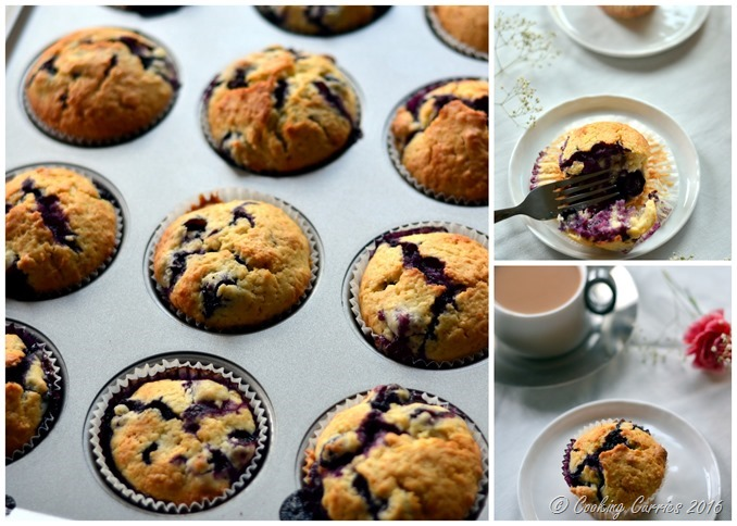 Meyer Lemon Blueberry Muffins - A Spring Recipe - Breakfast Brunch - www.cookingcurries.com (9)