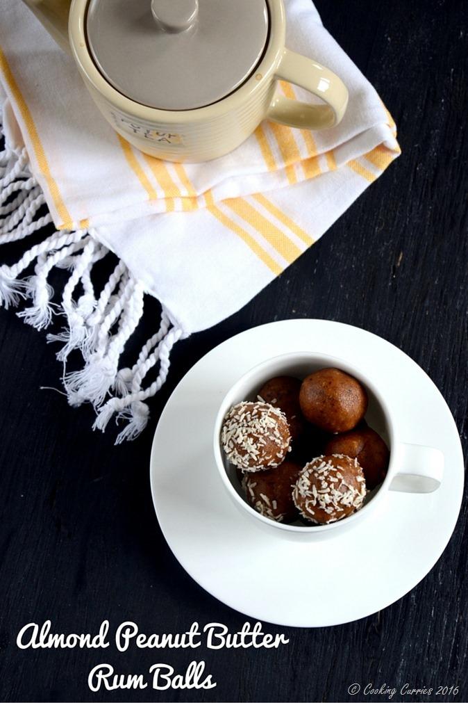 Almond Peanut Butter Rum Balls - no cook no bake recipe - www.cookingcurries.com (2)