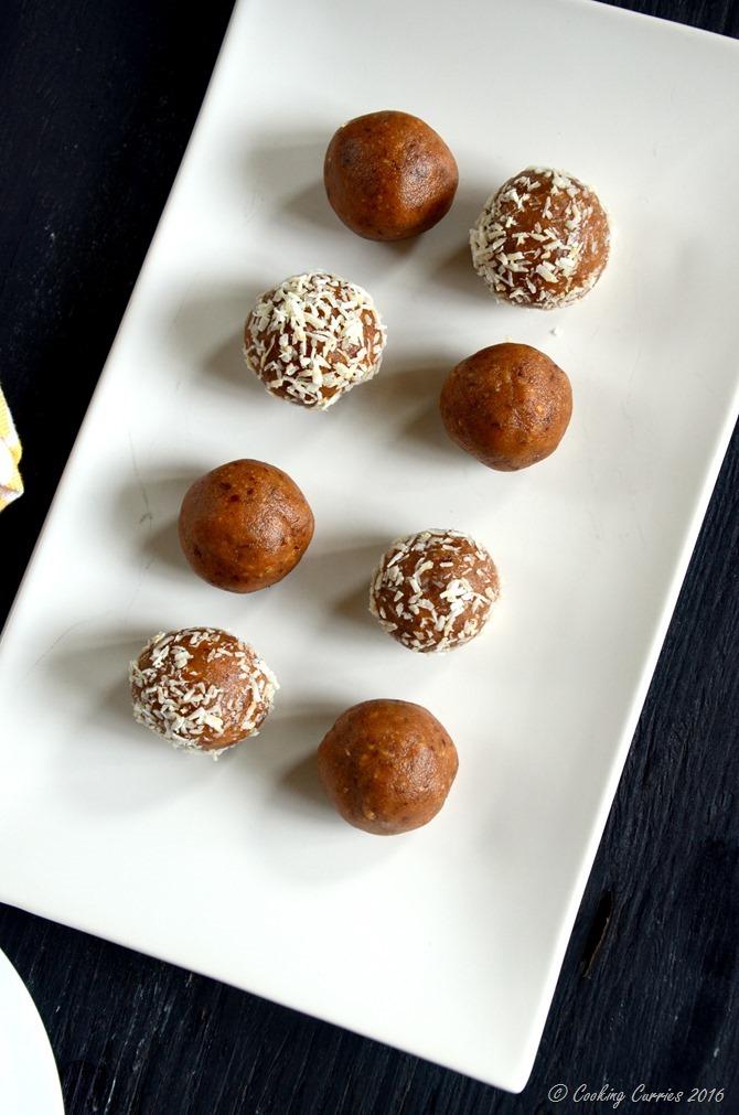 Almond Peanut Butter Rum Balls - no cook no bake recipe - www.cookingcurries.com (4)