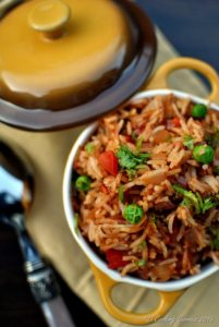 Tawa Pulao - Basmati Rice with Vegetables and Spices - Vegan | Gluten Free