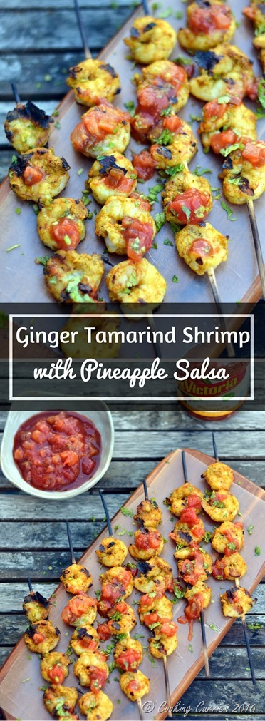 Ginger Tamarind Shrimp with Pineapple Salsa - www.cookingcurries.com (2)