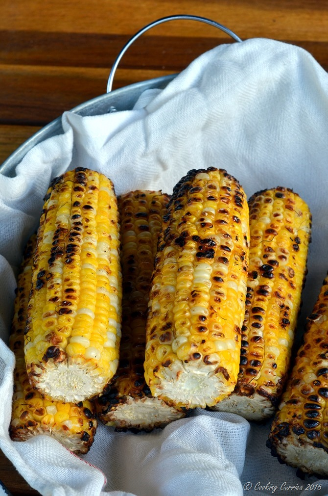 Indian Style Grilled Corn - Bhutta (3)