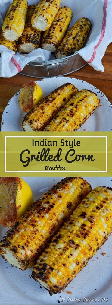 Indian Style Grilled Corn - Bhutta