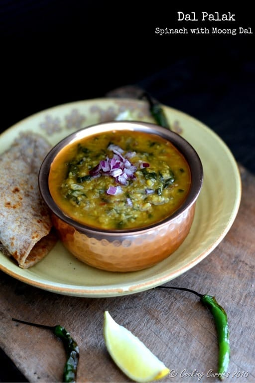 Dal palak spinach with moong dal cooking curries forumfinder Choice Image