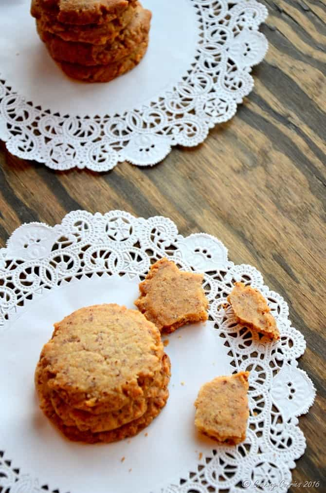 Eggless Honey Cardamom Anytime Cookies - www.cookingcurries.com (4)