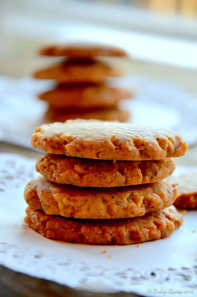 Eggless Honey Cardamom Anytime Cookies - www.cookingcurries.com (5)