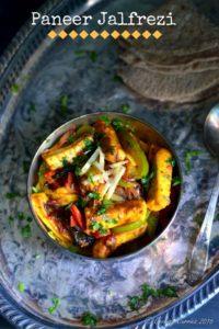 Paneer Jalfrezi – Paneer Stir Fried with Vegetables