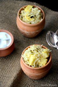 Paneer Methi Pulao ~ Basmati Rice scented with Spices, Fenugreek Leaves and Paneer