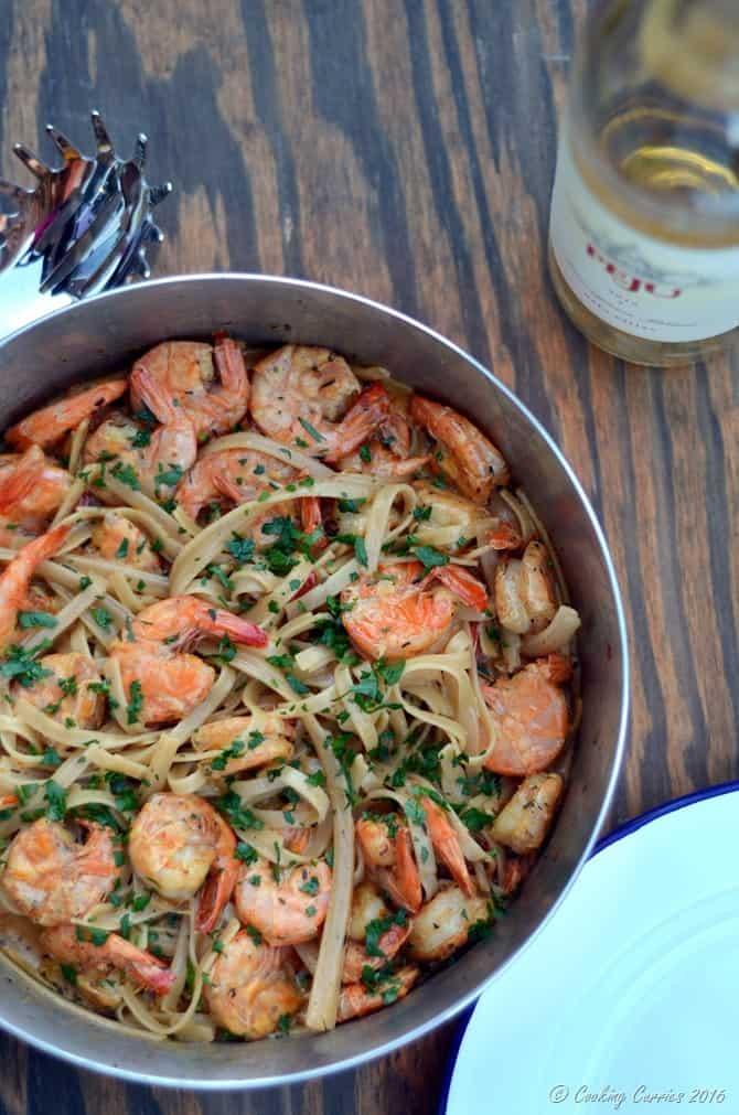 Cajun Shrimp Fettuccine - Easy Weeknight Dinner - www.cookingcurries.com (3)
