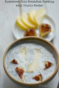 Buckwheat Chia Breakfast Pudding with Truvia Nectar