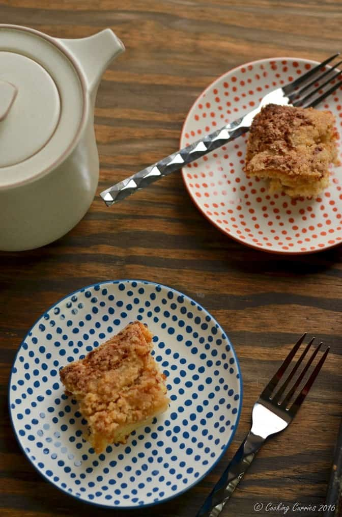 Ginger Pear Streusel Coffee Cake - Stonyfield Organic and King Arthur Flour Organic - Stonyfield Clean Plate Club (3)