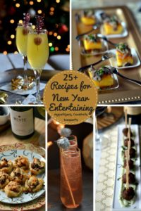 New Year Entertaining – Cocktail and Dessert Party Recipes