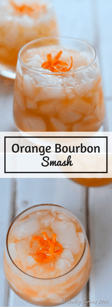 Orange Bourbon Smash