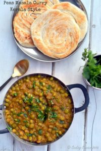 Green Peas Masala Curry - Kerala Style