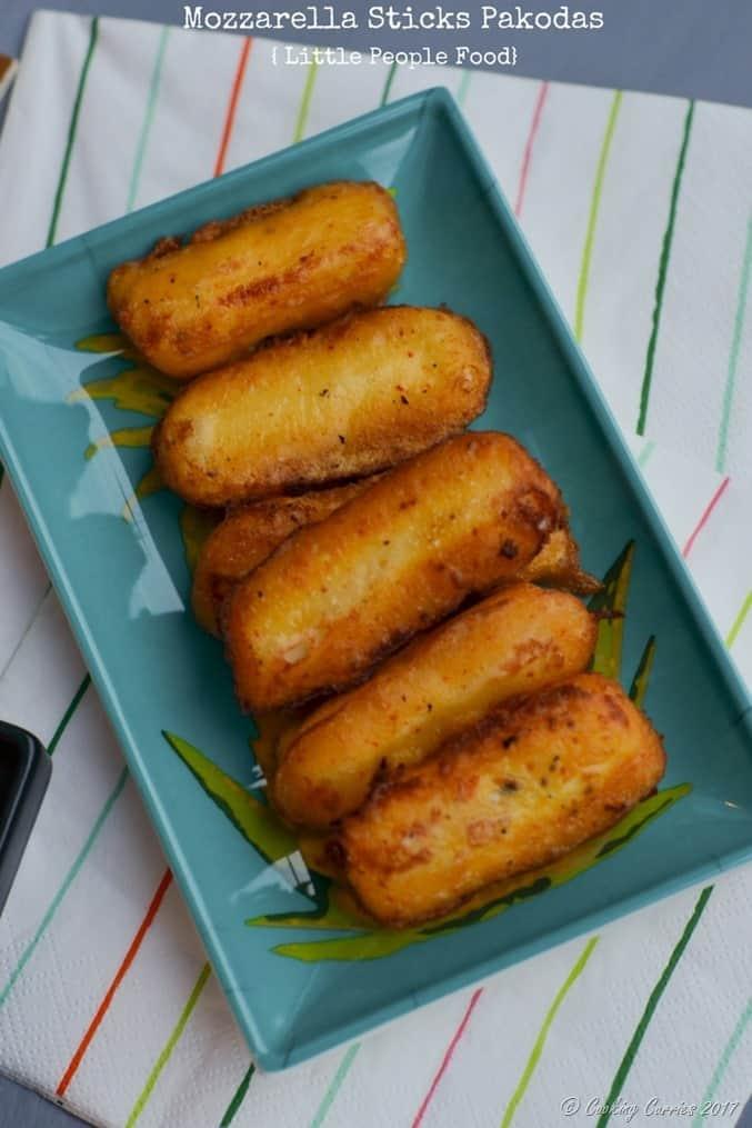 Mozzarella Sticks Pakodas