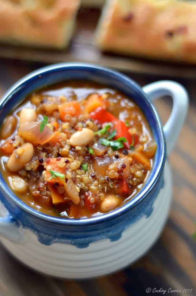 Sprouted Quinoa and White Bean Soup (4)