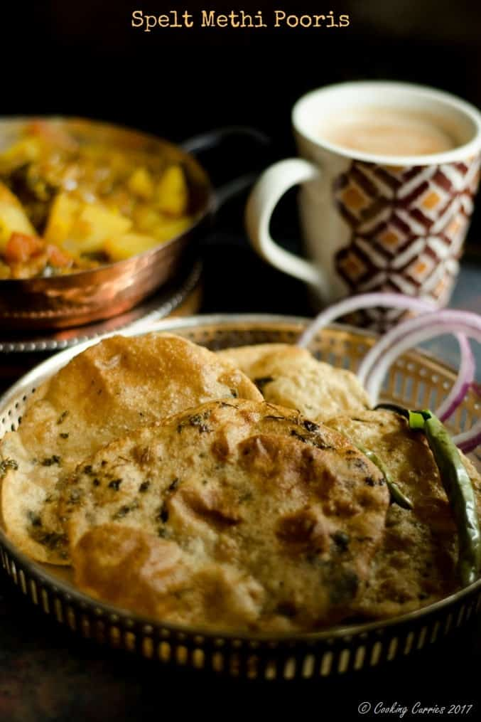 Methi Pooris (1)