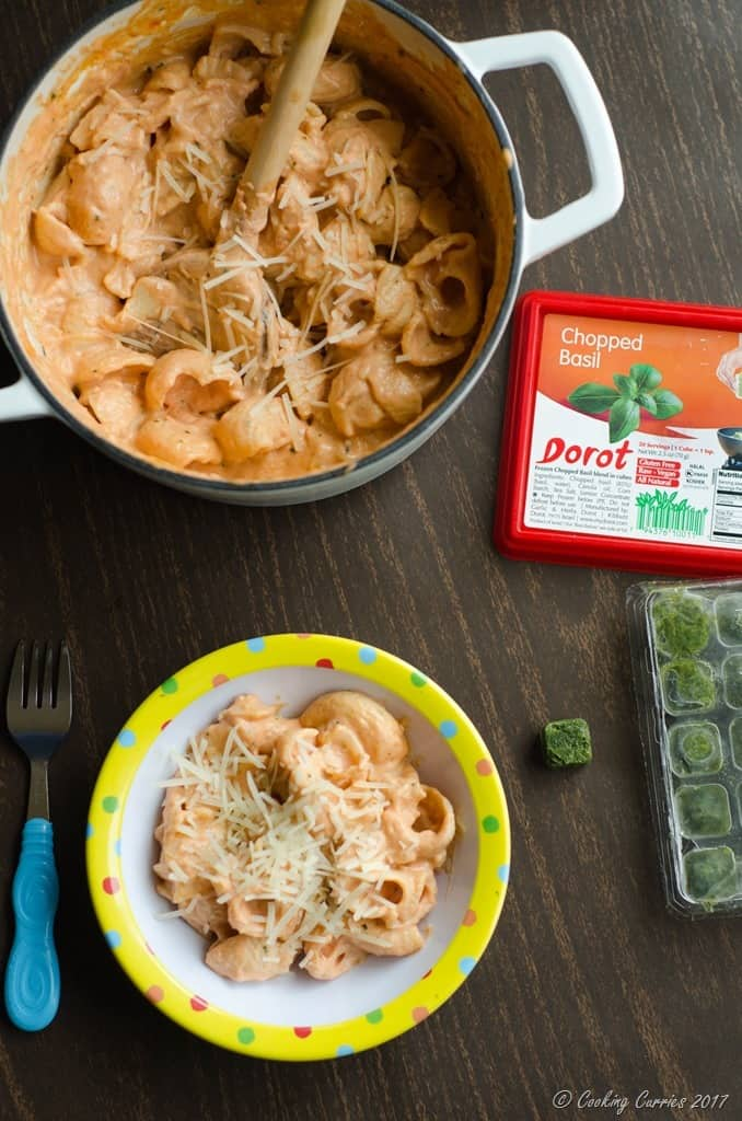 Dorot - Tomato Basil Mac and Cheese - Little People Food (11 of 13)