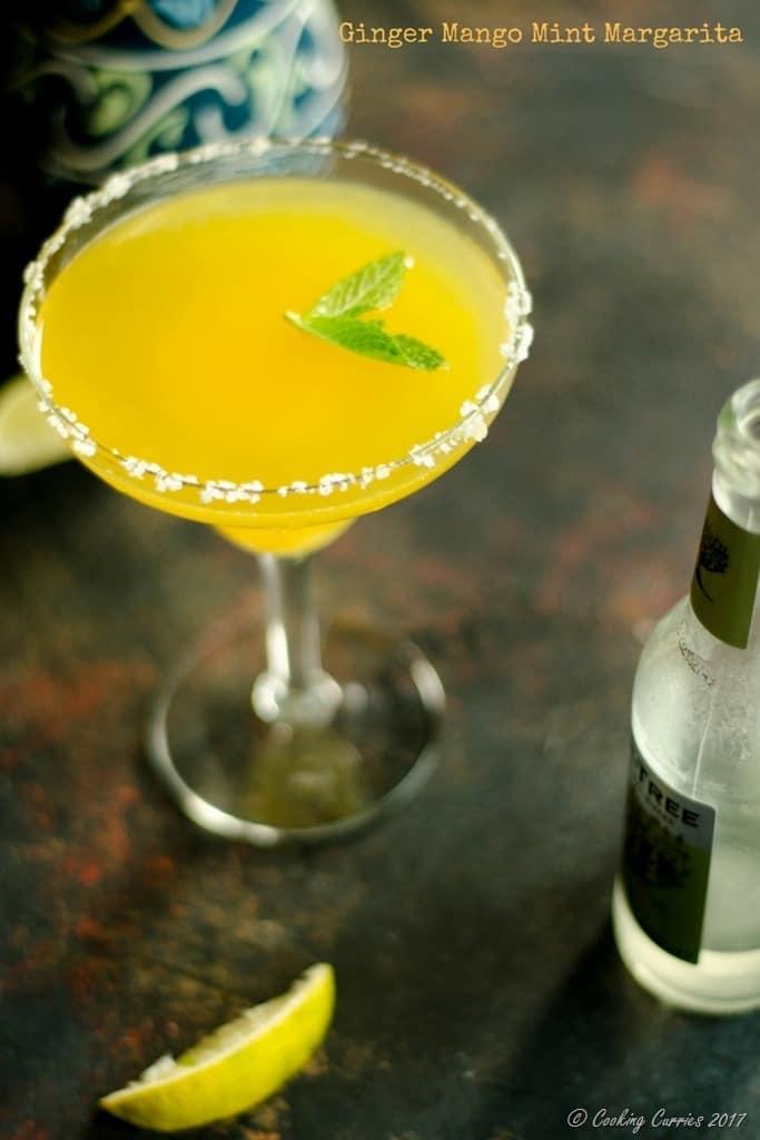 Ginger Mango Mint Margarita