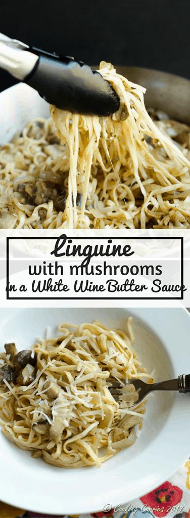 Linguine with Mushrooms