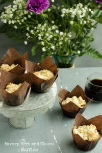Savory Herb and Cheese Muffins