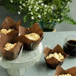 Gluten Free Savory Herb and Cheese Muffins