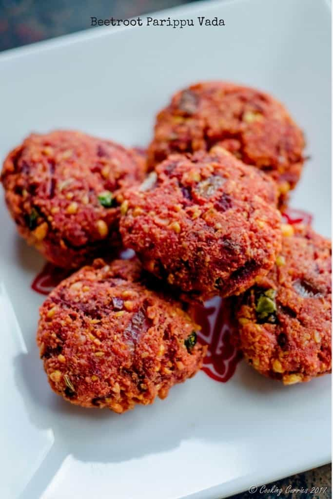 Beetroot Parippu Vada