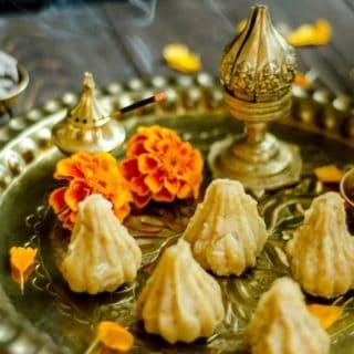 Coconut Khoya instant modak