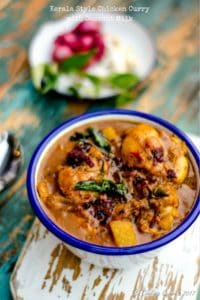 Kerala Style Chicken Curry with Coconut Milk – Nadan Thenga Pal Chicken Curry