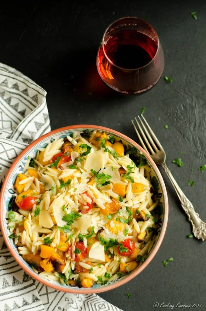 Butternut Squash and Cherry Tomatoes Orzo (3 of 5)