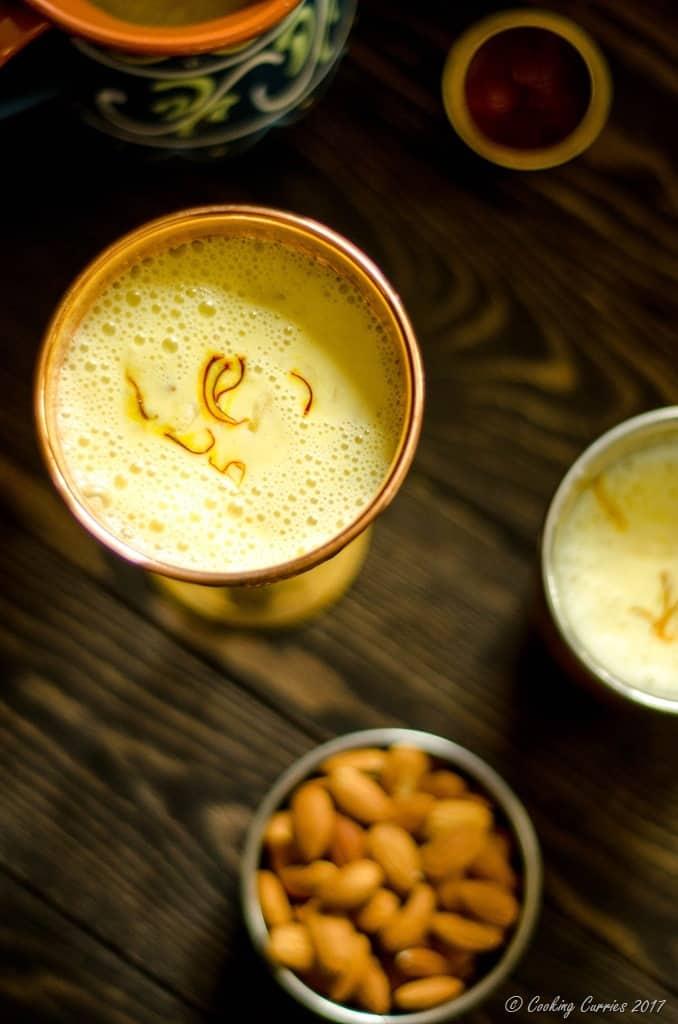 Saffron Almond Milk - Kesar Badam Doodh (7 of 7)