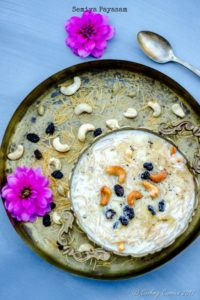 Semiya Payasam – Vermicelli Milk Pudding