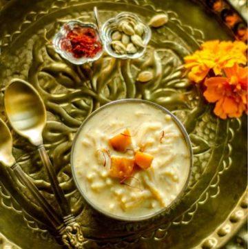 Mango Semiya Payasam