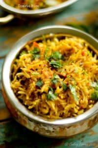 Tomato Rice – Thakkali Sadam