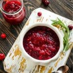 Quick and Easy dump recipe for Instant Pot Orange Cranberry Sauce