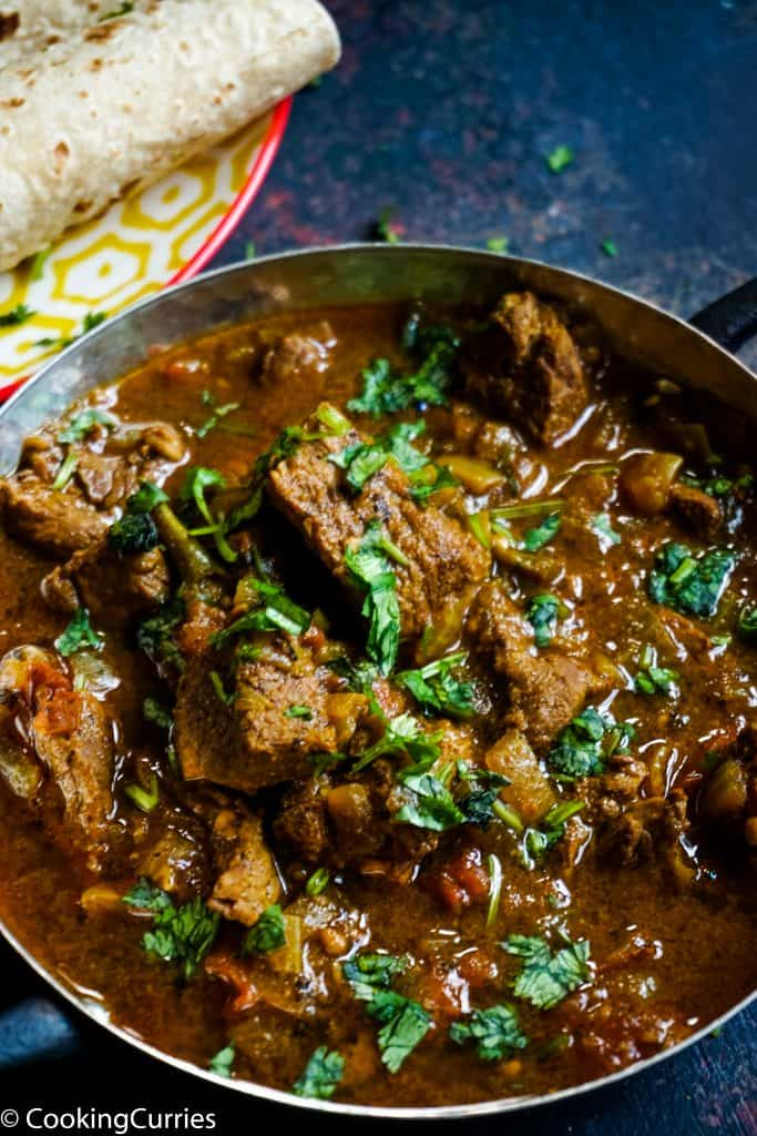 Instant pot Indian Lamb Curry - Whole30 Paleo