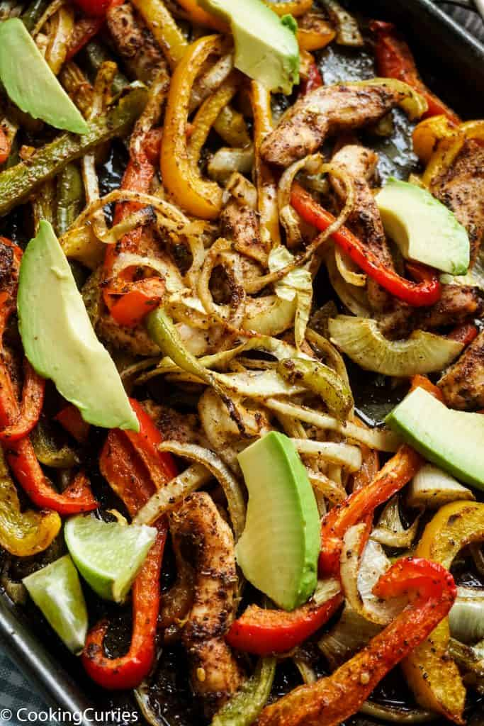 Sheet Pan Chicken Fajitas - Whole30
